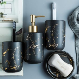 Nordic Ceramic Bathroom Accessories Set