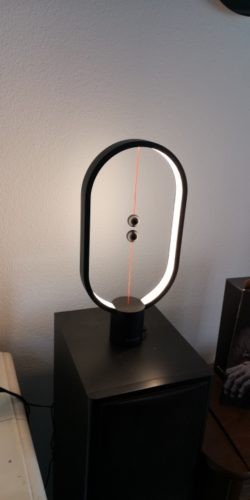 Nordic Magnetic Balance Table Lamp photo review