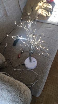 Nordic Atmosphere Tree Lamp photo review