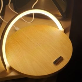 CIRCLE Nordic Wireless Charger Table Lamp photo review